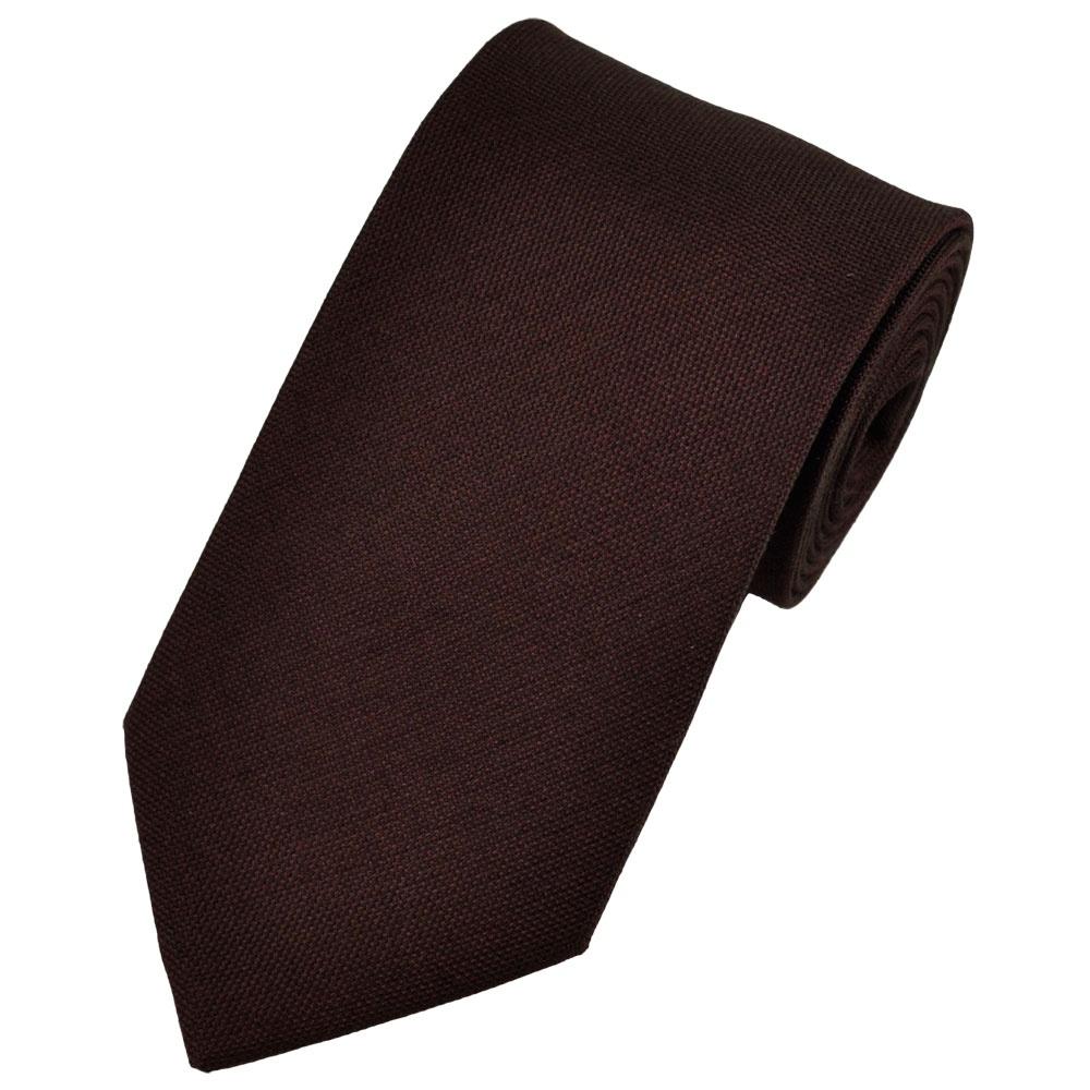 Luxury Burgundy & Red Silk & Cashmere Men's Tie from Ties ...