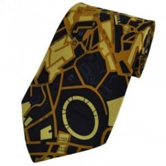 Map Of Rome Silk Novelty Tie