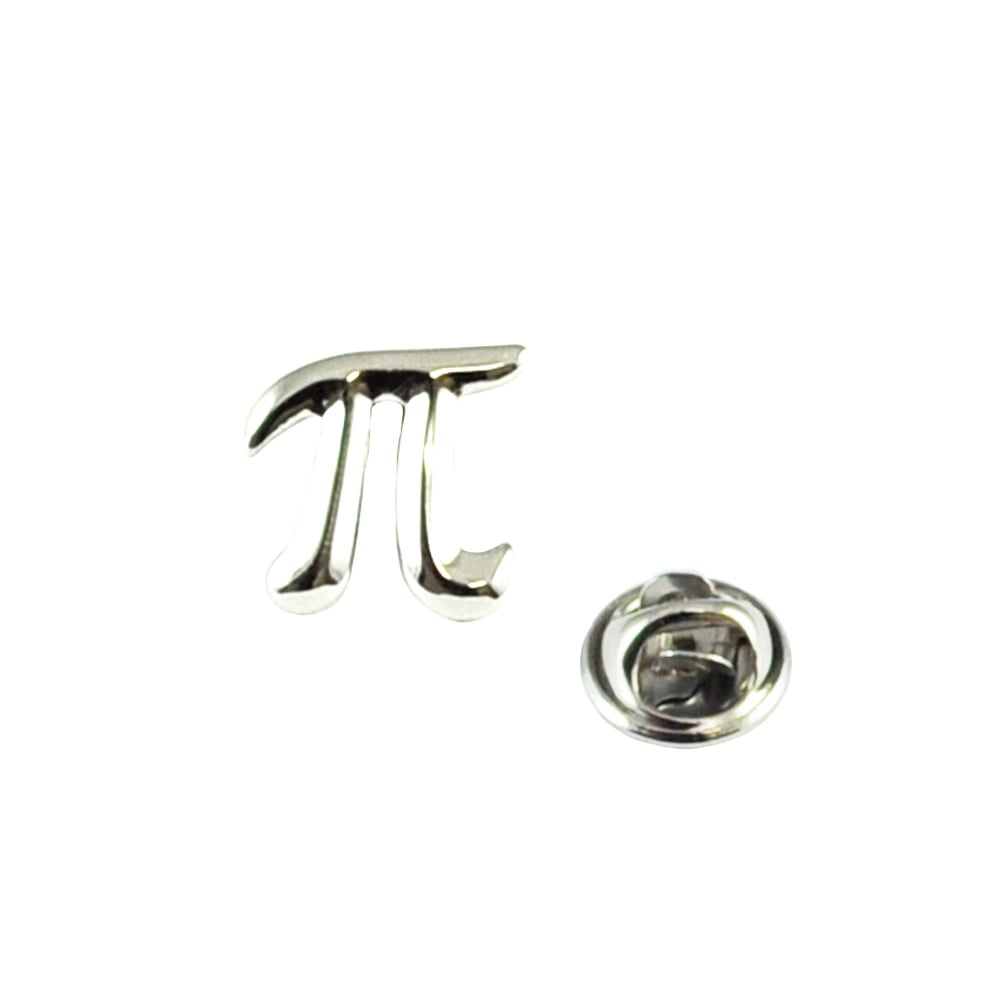 Maths Pi Symbol Lapel Pin Badge From Ties Planet Uk