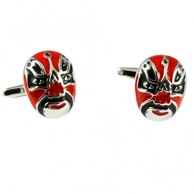 Mexican Wrestling Mask Novelty Cufflinks