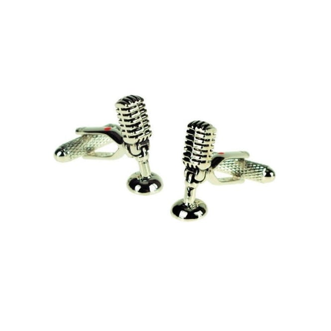 Microphone Novelty Cufflinks