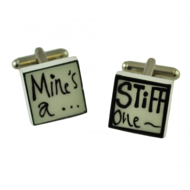 Mine's A Stiff One Cufflinks
