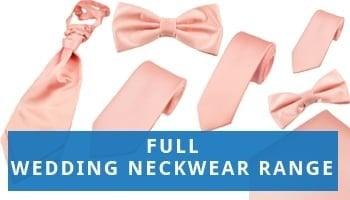 Full Range Wedding Ties for Men and Boys