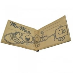 Mr Men Bi-Fold Men's Leather Wallet