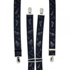 Musical Instruments Men's Trouser Braces