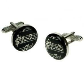 Musical Notes Novelty Cufflinks