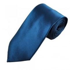 Navy Blue & Black Striped Men's Tie