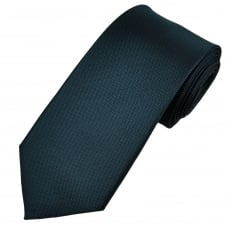 Navy Blue Waffle Patterned Men's Tie