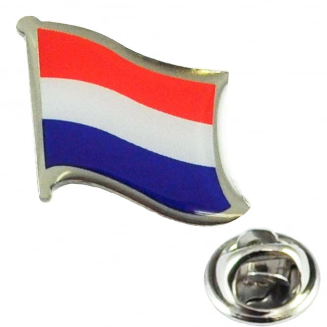 Netherlands Flag Lapel Pin Badge