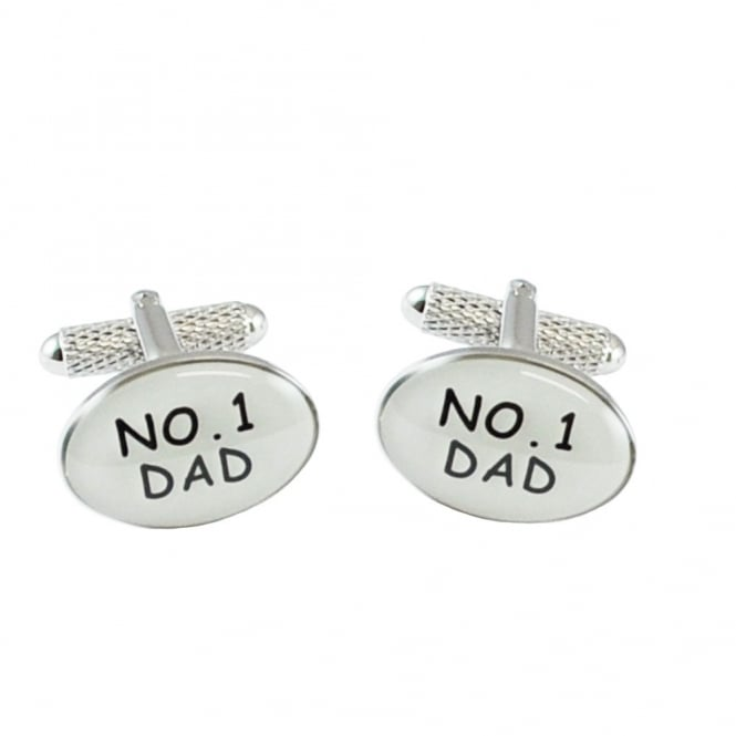 number 1 dadnovelty cufflinks