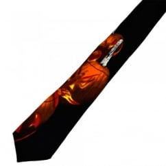 'Oh Scary Night' Pumpkin Halloween Boys Novelty Tie