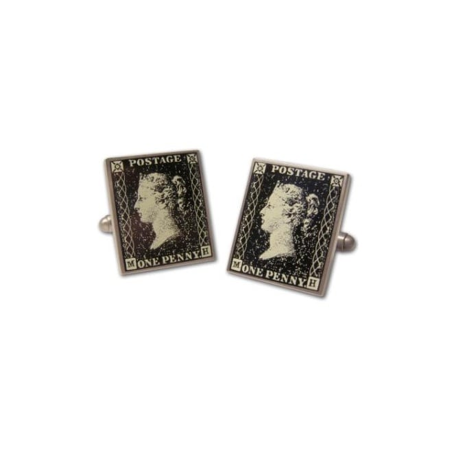 One Penny Postage Stamp Cufflinks