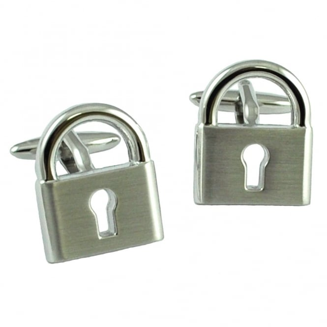 Padlock Novelty Cufflinks