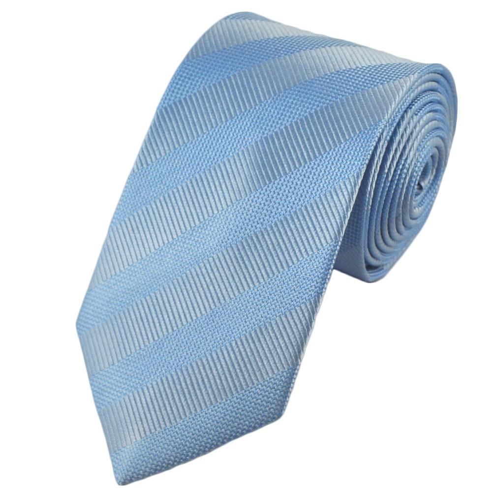 pale blue light blue striped silk tie from ties planet uk