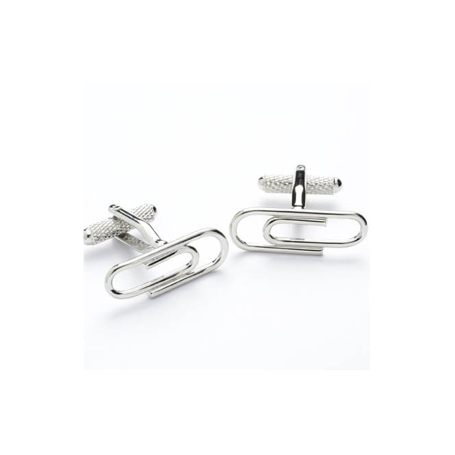 Paperclip Novelty Cufflinks