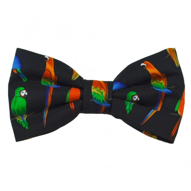 Parrots & Toucans Novelty Bow Tie
