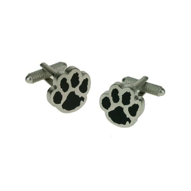 Paw Print Novelty Cufflinks