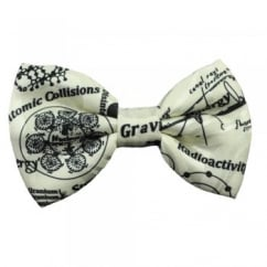 Physics Cream Men's Novelty Bow Tie