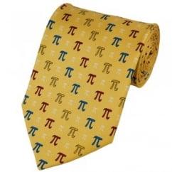 Pi Maths Silk Novelty Tie
