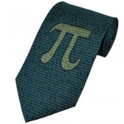 Pi Sign Silk Novelty Tie