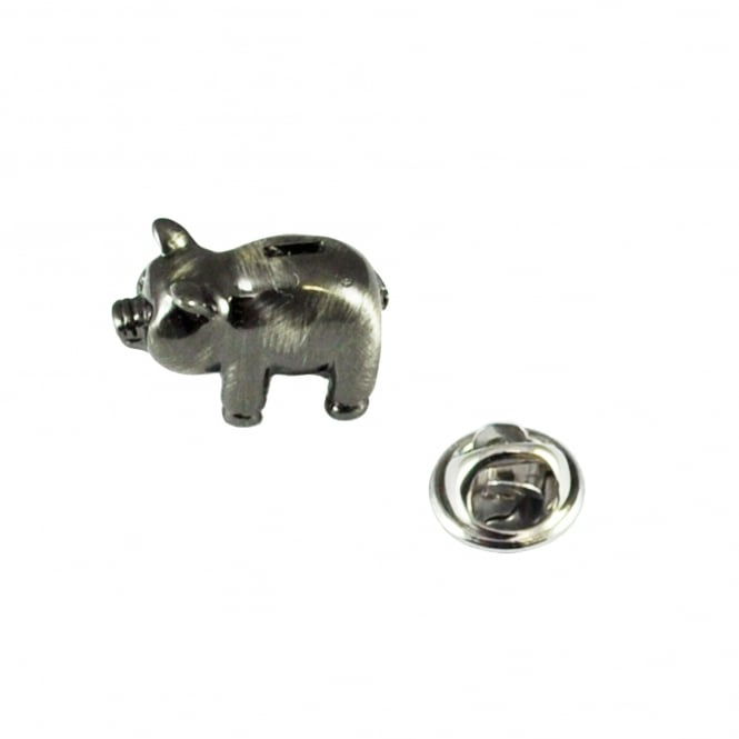 Piggy Bank Lapel Pin Badge
