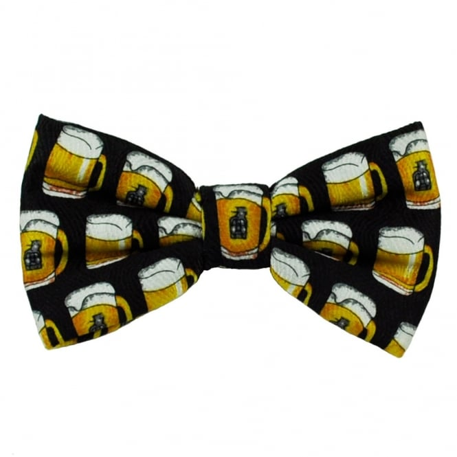 Pint of Beer Novelty Bow Tie