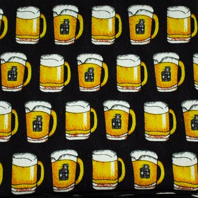 Pint of Beer Novelty Pocket Square Handkerchief