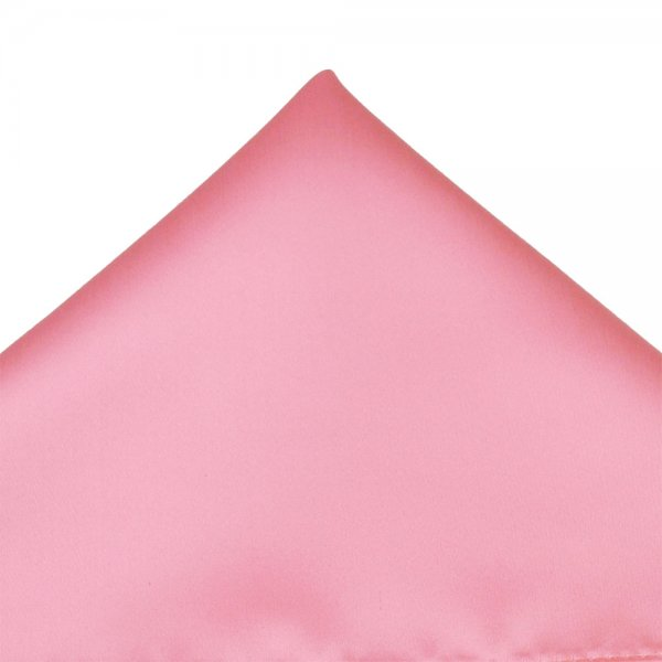 Plain Baby Pink Pocket Square Handkerchief From Ties Planet Uk