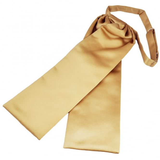 Plain Beige Wedding Cravat