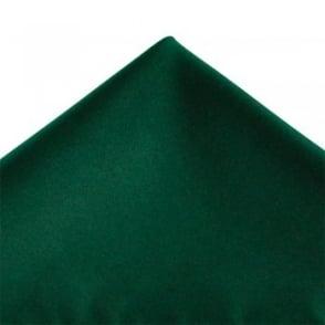 Plain Bottle Green Pocket Square Handkerchief