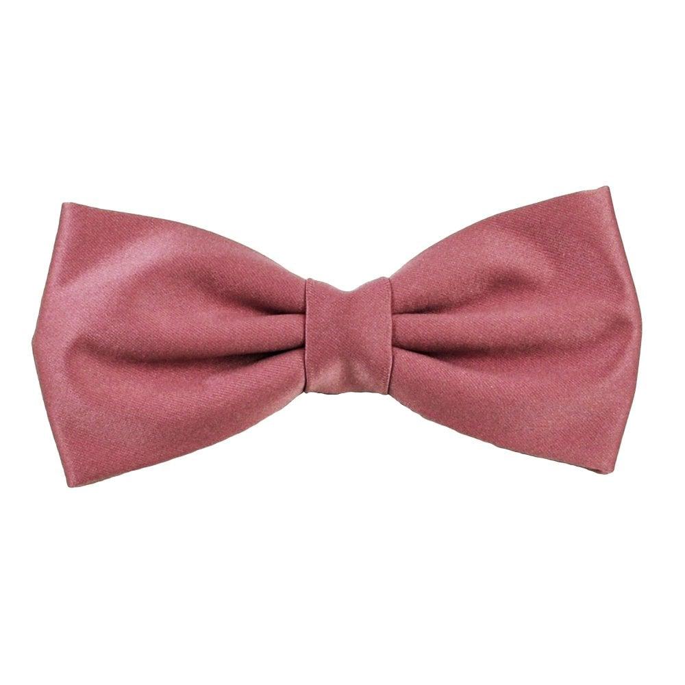 f7e3b106fc30 Plain Dark Mauve Pink Men's Bow Tie from Ties Planet UK