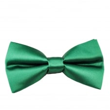 Plain Emerald Green Boys Bow Tie