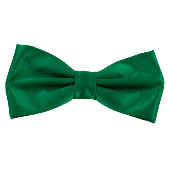 Plain Forest Green Bow Tie