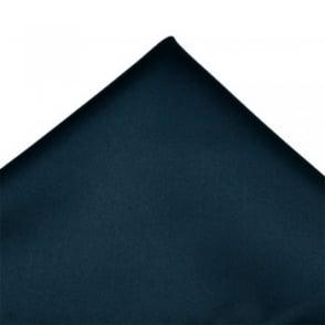 Plain French Navy Pocket Square Handkerchief