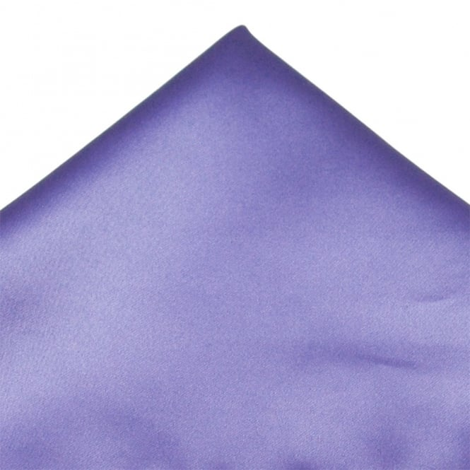 Plain Heather Purple Pocket Square Handkerchief