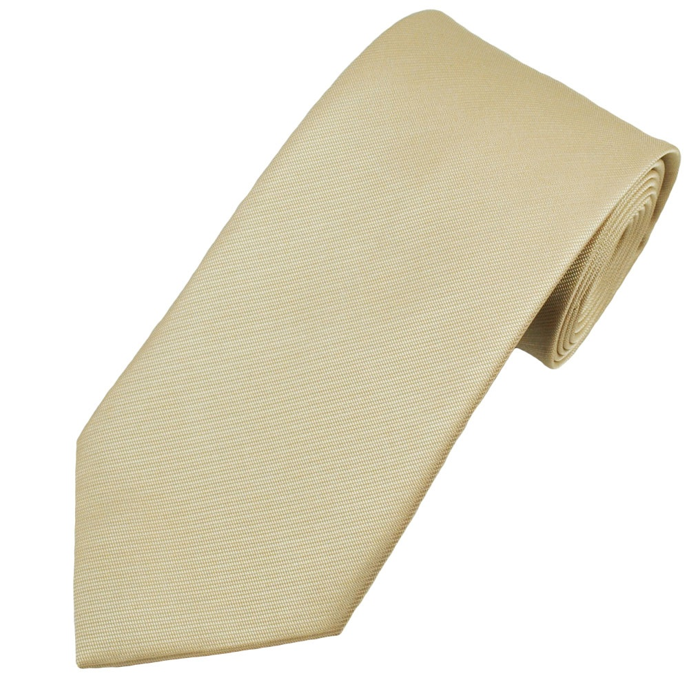 plain ivory ribbed s tie from ties planet uk