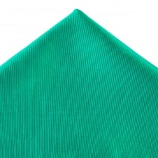 Plain Jade Green Silk Pocket Square Handkerchief