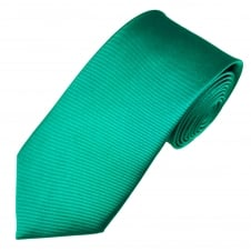 Plain Jade Green Silk Tie