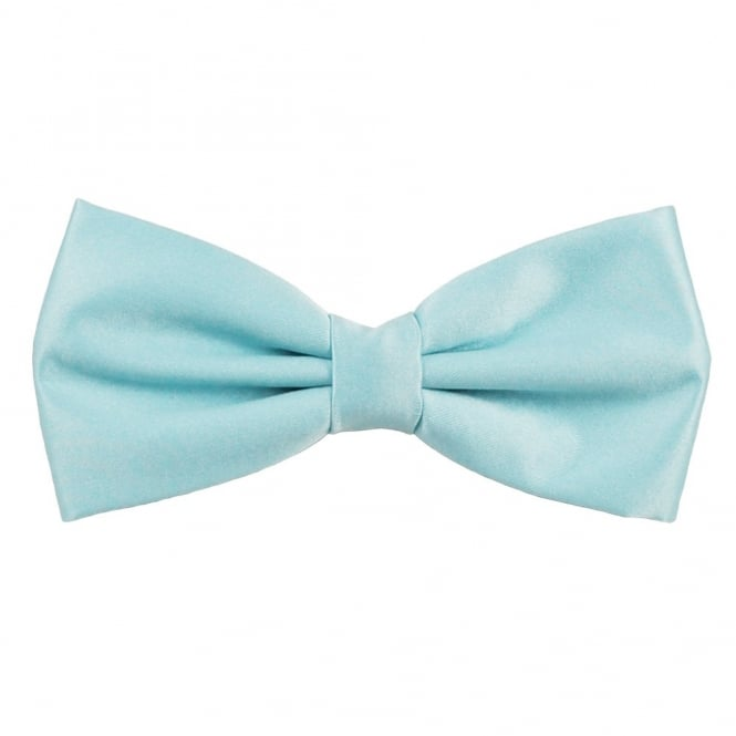 Plain Light Blue Bow Tie From Ties Planet Uk