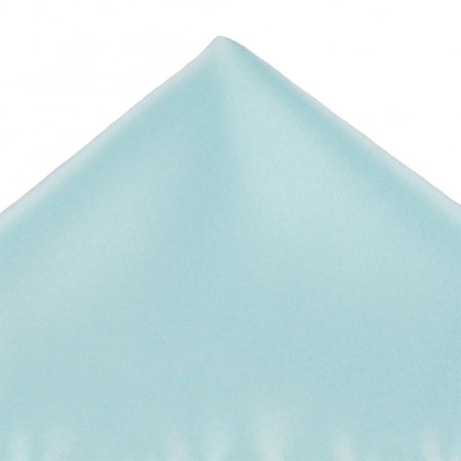Plain Light Blue Pocket Square Handkerchief
