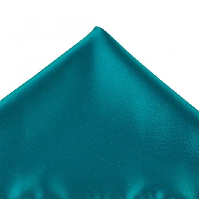 1c3664edb4dc Plain Light Teal Pocket Square Handkerchief from Ties Planet UK