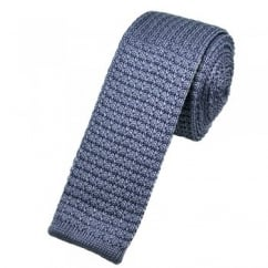 Plain Lilac Silk Knitted Tie