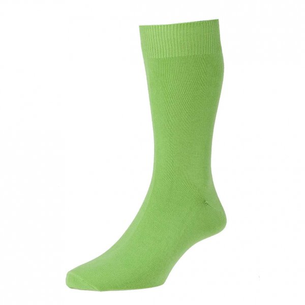 Plain Lime Green Men S Socks By Hj Hall From Ties Planet Uk