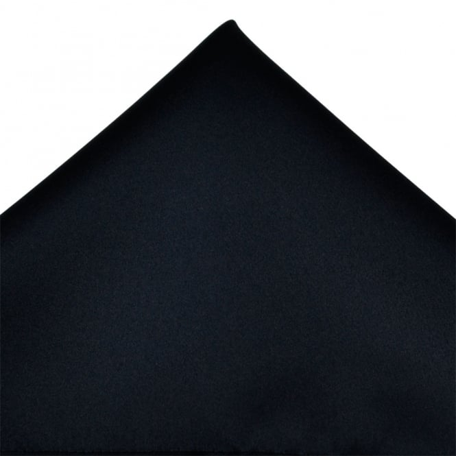 Plain Navy Blue Pocket Square Handkerchief