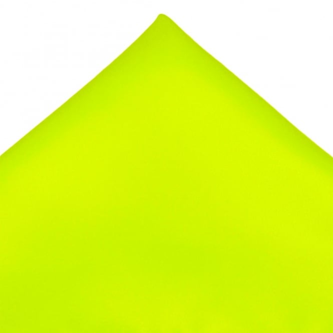 Plain Neon Lime Green Pocket Square Handkerchief From Ties