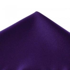 Plain Purple Pocket Square Handkerchief