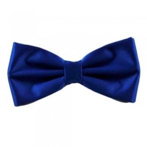 Plain Royal Blue Bow Tie