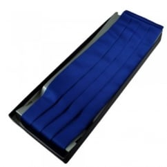 Plain Royal Blue Cummerbund