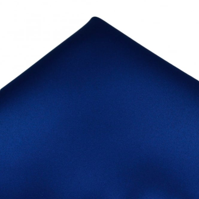 Plain Royal Blue Pocket Square Handkerchief