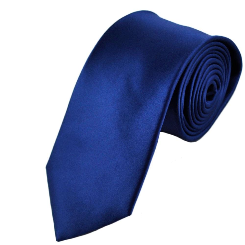 Plain Royal Blue Silk Tie From Ties Planet UK
